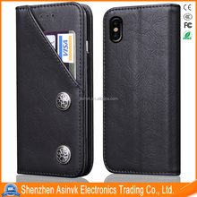 Leather TPU Shockproof Clear Protective case for iPhone 8