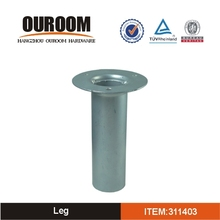 Customized Unique Design Best Quality Cone Metal Furniture Leg
