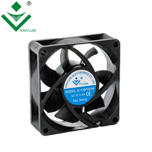 high storage temperature 12V 70x70x25mm cooling dc plastic fan
