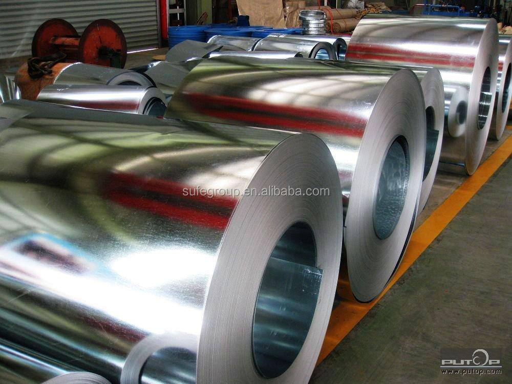 High precision anti-finger Aluzinc coated steel sheet in coil