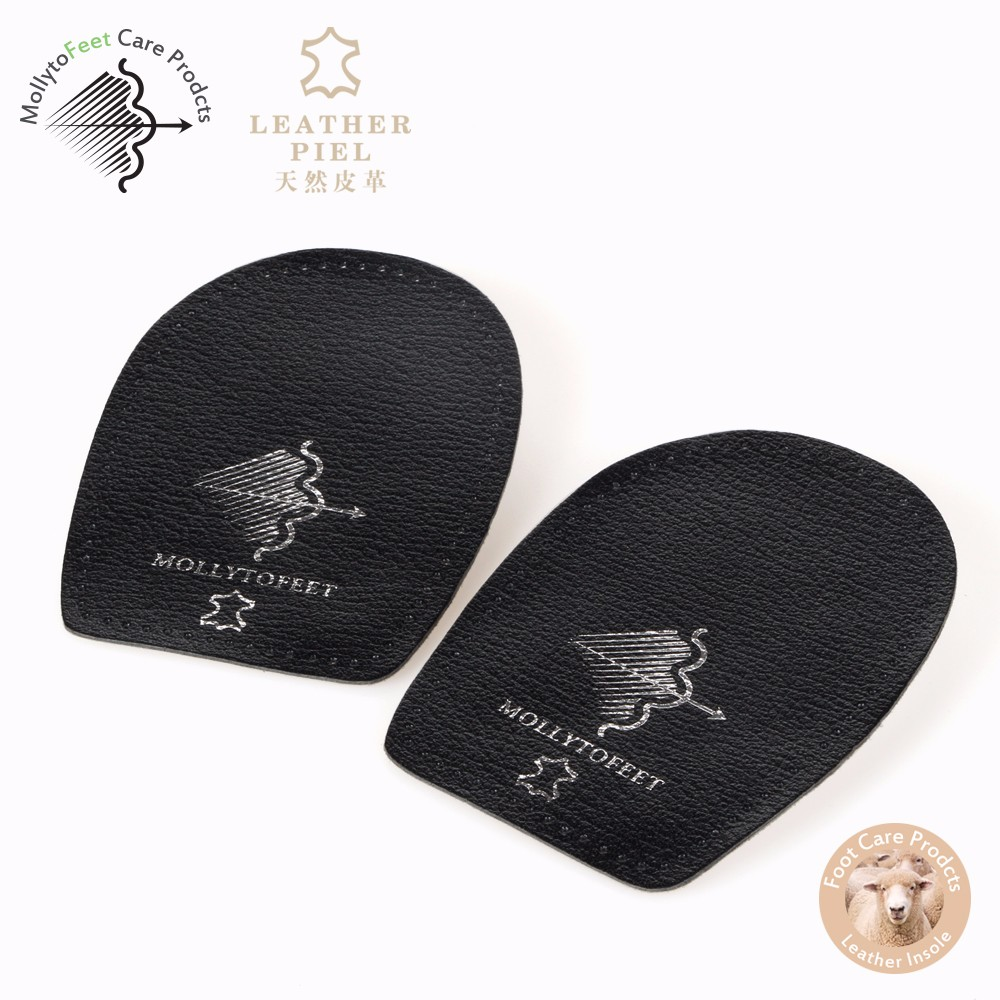 Unisex Soft latex heel cup Pad flat foot insoles custom orthotic Heel Pads