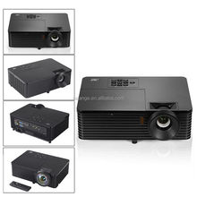 Home theater high brightness Daylight 4000ANSI DLP Projector 1080p full HD 3D video Proyector beamer for school