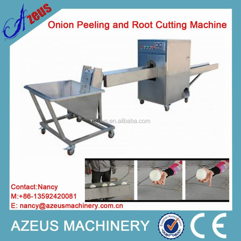 Fully Automatic Onion Peeling and Root Cutting All In One Machine