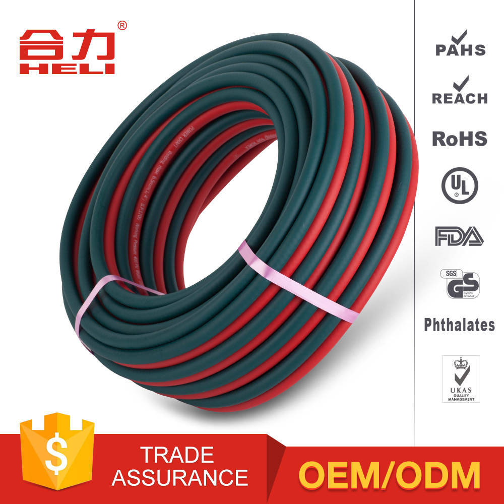 Famous brand newest oxygen and acetylene single welding rubber hose/tube