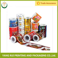 Alibaba china Green Packaging Optional plastic film roll,film laminating