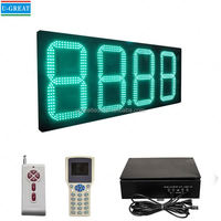 16inch High Brightness Outdoor LED Gas Station Price Sign