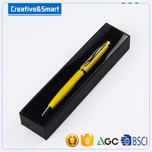 Alibaba Creative Simple Design Innovative Twist Action Ballpoint Roller Pens/ Rotation Metal Stylus Touch Pen