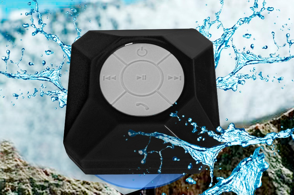 Colorful Bluetooth Speaker IPX6 Waterproof Dj Songs Mp3 Free Download Bottom Sucker Design Portable Bluetooth Speaker