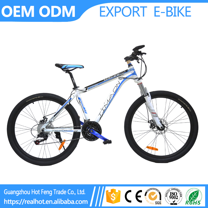 Powerful 27 inch Factory Best Selling 24 speed Aluminum Alloy Mountain cheap chopper bike