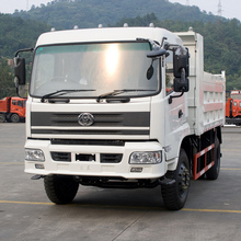 China 4x2 260hp 6 Wheel 15 Ton 12m3 Dump Tipper Trucks Capacity For Sale In Ghana