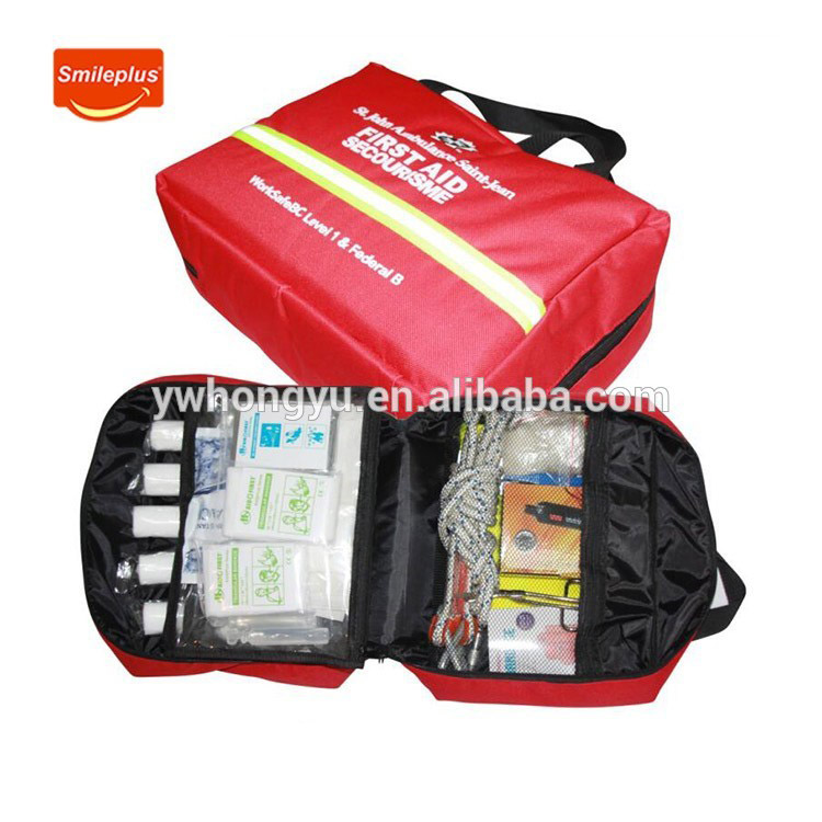 Zhejiang Hongyu Cheap Price Good Quality OEM/ODM Car First Aid Tool Kit