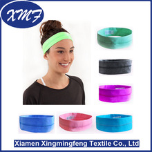 100% cotton elastic Tube Headband bandanas custom printed hairband