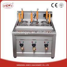 Chuangyu Wholesale Ruian Food Machinery Silver Pasta Cooking Cooker Automatic Cooking Machine
