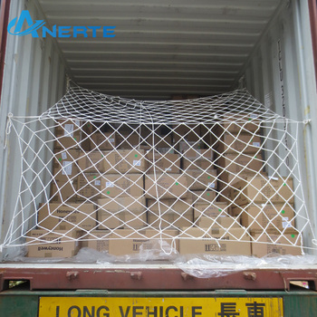 Reliable reputation nylon car cargo rope nets truck container load security cover safety mesh