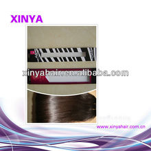 New arrival packaging boxes for hair extensions/Finest Quality Soft Vietnam virgin hair