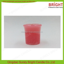 High Quality Wax Scented Colored Votive Candle Manufacturer