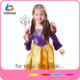 Wholesale and retail cosplay snow white pricess costume,kids dress up play set