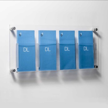 Acrylic a4 Clear Holder 20 Pockets Hanging Storage Pocket Organizer