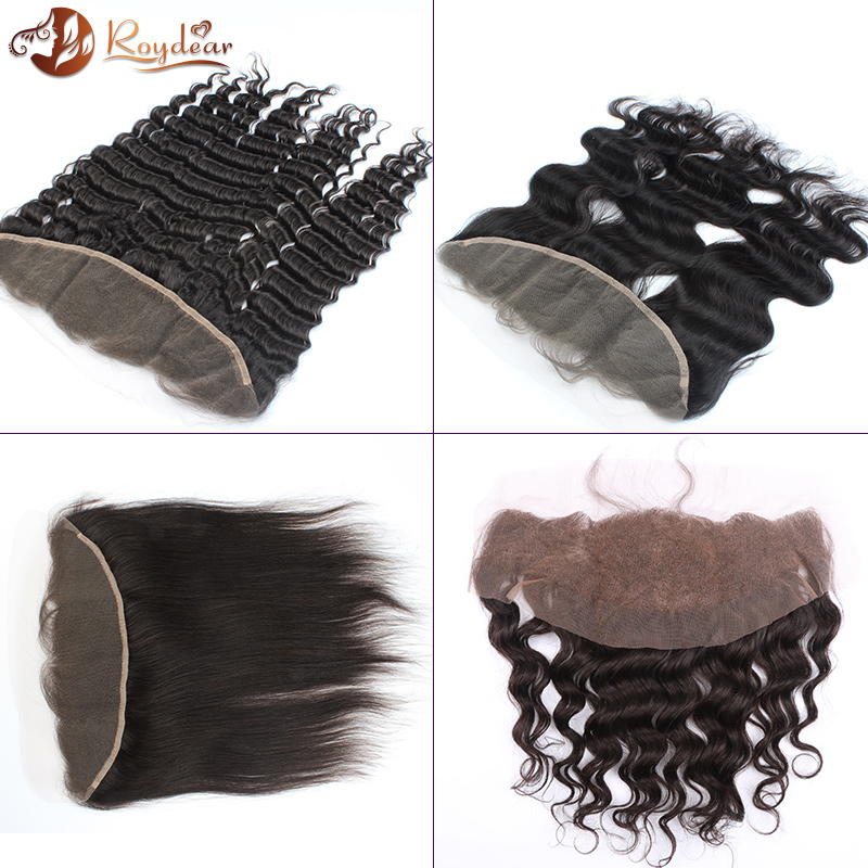 100% ear to ear lace frontal 13*4 virgin brazilian hair pieces