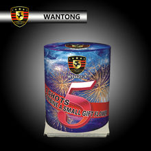 9 shots small cake fireworks 1.4g consumer fireworks for Christmas