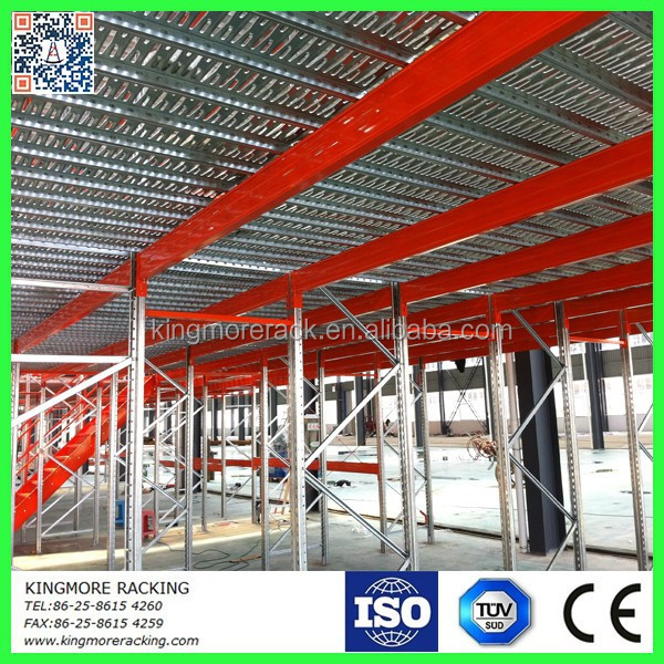 Warehouse mezzanine steel floor grating