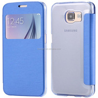 Factory Price Flip Cover for Samsung Galaxy S6 Case