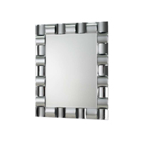 Top quality curve mirror frame 3D decorative wall Mirror
