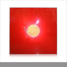 WDM new products red reflective yellow flashing lights solar powered aluminum led road sign