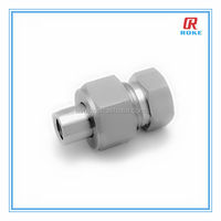 "1/4"" stainless steel union ball joint"