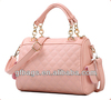 GF-J207 2018 Fashion Design Ladies Cheap Embossed Leather Handbag Pink Shoulder Bag