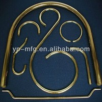 Cnc machining brass bending tube for frame chair