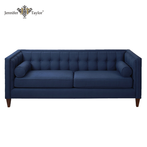 Wholesale furniture from China in home furniture woven fabric 3 seat sofa