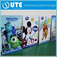 Plastic sticker advertising board with frame with low price