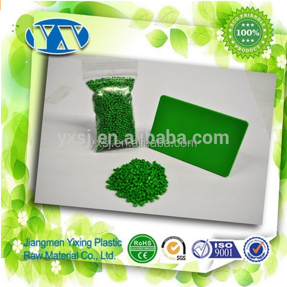 China Supplier Wholesale Green Plastic Color Masterbatch for Injection Extrusion Blow Film
