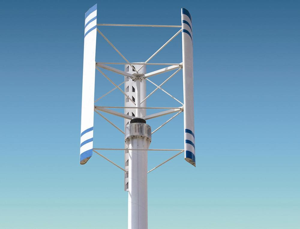 300w-10kw vawt maglev vertical wind turbines for home use with CE