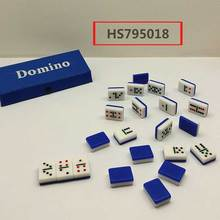 1.0 DOMINO,red/green/blue 3color, table game, educational toy, Huwsin Toys