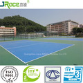 factory price spu sports flooring rubber flooring plastic floor covering with ITF certificate