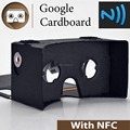 promotion gifts google 3d glass logo printing personal imprint cardboard v 1