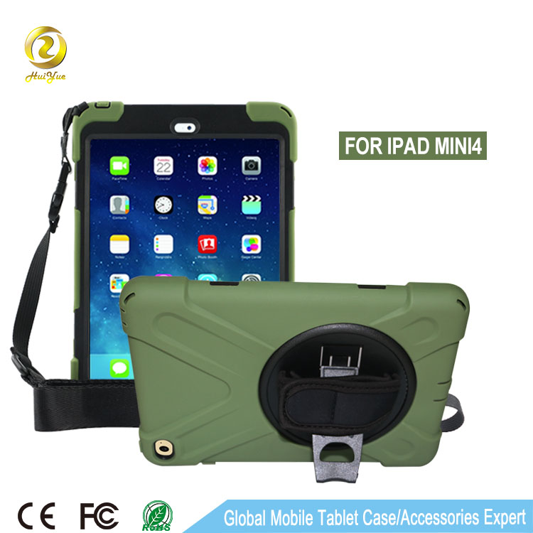 Best selling drop protective universal rugged tablet case for ipad mini 4