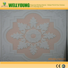 Artistic plaster of Paris fire proof custom coffered ceiling nice design ceiling