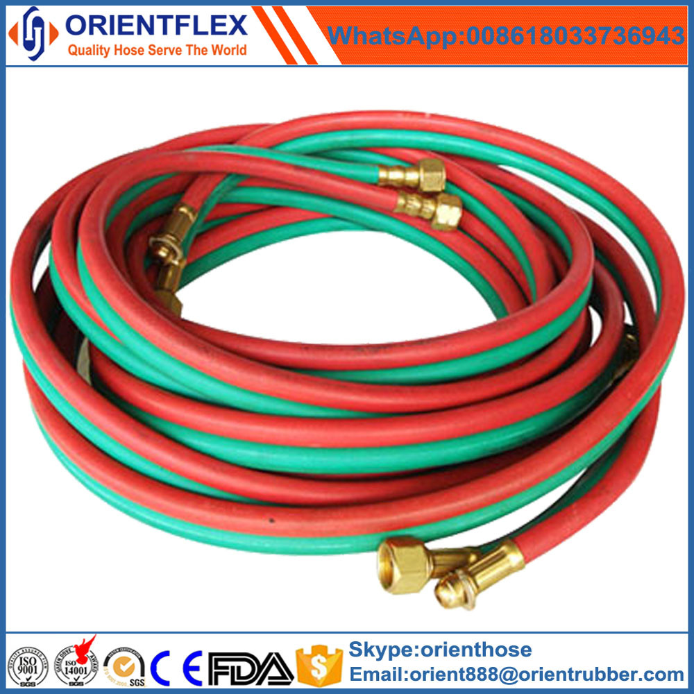 rubber single/ twin welding hose with excellent quality