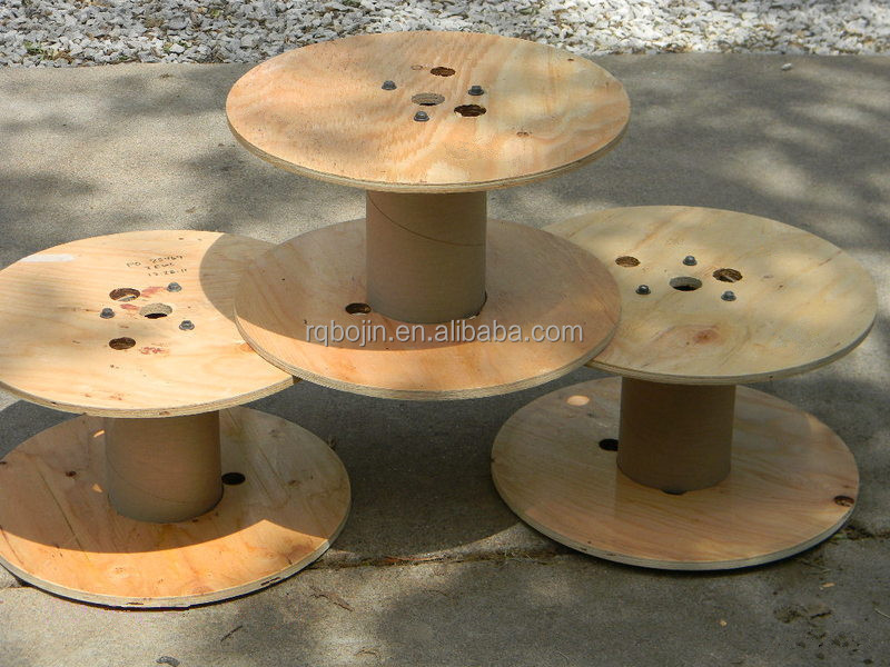 plywood Cable Drum Spools Wire Rope Reel