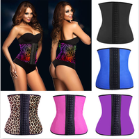 Latex Waist Trainer Vest Body Shaper with Shoulder Girdle Underbust Waist Cincher
