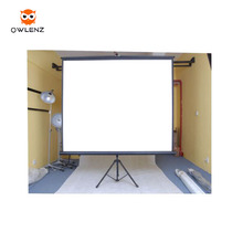 Portable Floor Pull Up Tripod Projection Screen Matte material tripod projector screen