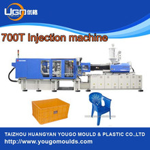 High quality plastic box making machine of 700T plastic injection moulding machine