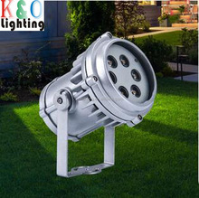 18W decorative landscape spot light IP66 outdoor waterproof solar led garden light