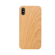 Luxury Fashion bamboo wood case for iphoneX wood mobile cases and covers