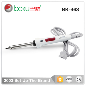 BAKU hot selling BK 463 micro 220V 30W usb mobile phone switch electric soldering iron