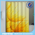 Water proof 100% Printed polyester shower curtain