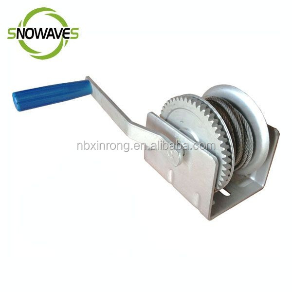 Boat Application and Hand Power Source manual hand winch Best Quality For Sale